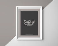 Free Smart Photo Frame Mockup PSD