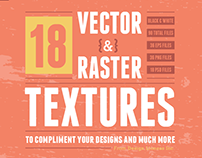 Texture Pack No.3 - Vector & Raster