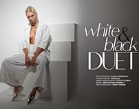 White & Black Duet