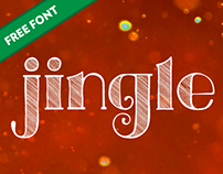 Jingle Display – FREE FONT – HAPPY HOLIDAYS