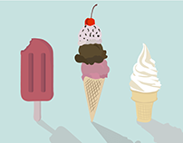 Ice Cream Illustration