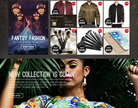 Lamsat Store - Website