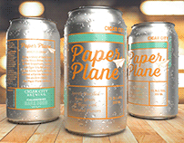 Paper Plane RTD Crafted Cocktail
