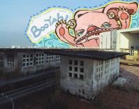Monster on the rooftop- Quái vật trên sân thượng