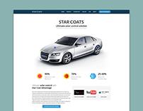 Start Coats - UI Design