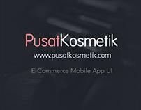 Pusat Kosmetik - Mobile App Design