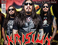KRISIUN - COVER ROADIE CREW MAGAZINE