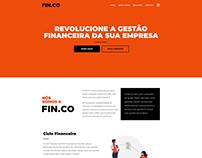 Criação de website | FIN.CO