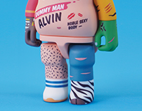 "ANATOY™ Complex Tester / Dummy Man ""Alvin"""