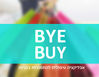BYE BUY - shopping addiction app