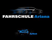 Driving School Logo