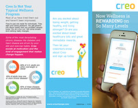 Creo brochure layout