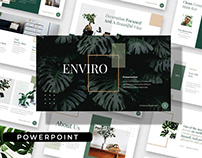 ENVIRO - Clean Multipurpose Powerpoint Template