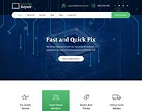 Free Electronics Repair WordPress Theme
