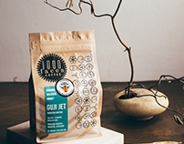 Packaging - 1000 Faces Coffee