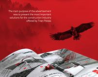 Titan Polska - magazine spread design