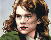 Agent Carter (Hayley Attwell) Portrait