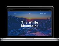 Interactive website UI prototype