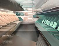 Airbus // airplane interior