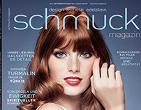 """Red Hair + Blue Ayes"" / Schmuckmagazin 03/2016"