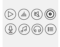 Music Icons (Plain)