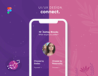 Connect - The Science behined Love   UI/UX