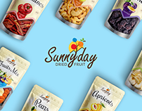 "Branding and Design for ""Sunny day"" Company"