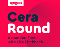 Cera Round Pro Typeface