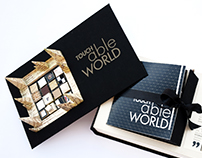TOUCH-able WORLD // multisensorial book