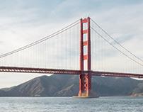 The Golden Gate Bridge & Ports of San Francisco
