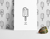 Ice cream wallpaper designs
