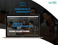 Winterville University Website Project