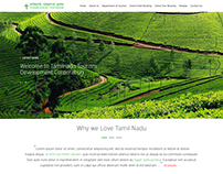 Tamil Nadu Tourism Redesign Website