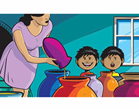 "PRINT - The  Christian Children's Book ""POTS POTS POTS"""