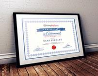 Blingbody Certificate