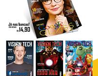 Edições da revista Vision Tech
