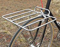 Custom Stainless Steel Front Bicycle Rack