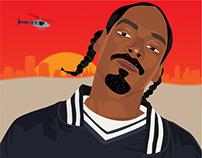 Hip-Hop Legends Illustrations