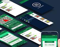 Diseño App Plataforma Luxelare