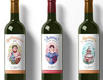 Wine package design & logo for Winnica Julia