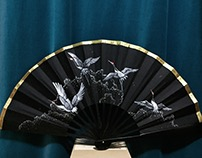Painting on Fans