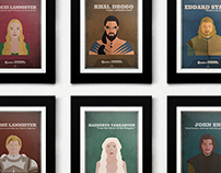 Game of Thrones ~ Poster Series