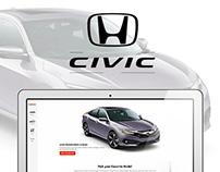 Honda UI Design Concept