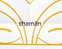 «Shamán» exposición de escultura | Cartelismo
