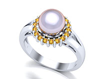 Beautiful Pearls Ring