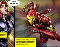 Diseñando Heroes pagina
