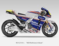 "Honda RCV213 V-S ""NSR Rothmans tribute"" Livery"