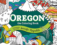 Oregon Coloring Book