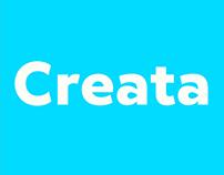 Creata typefamily