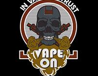 Vape shirt and badge